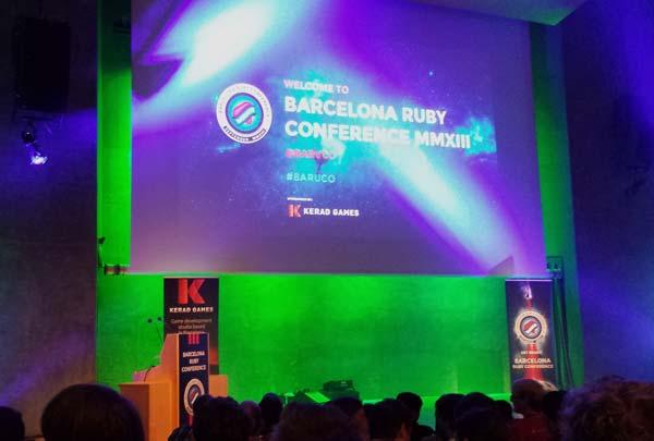 Análisis de la Barcelona Ruby Conference 2013 (BaRuCo )