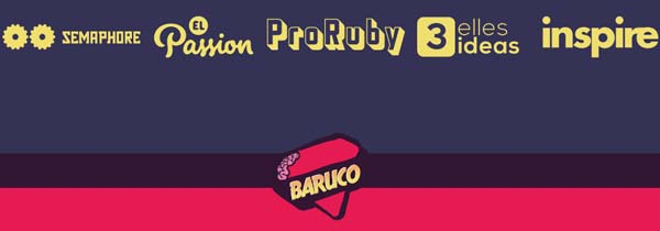3llideas es partner de la Barcelona Ruby Conference  2014 (Baruco)