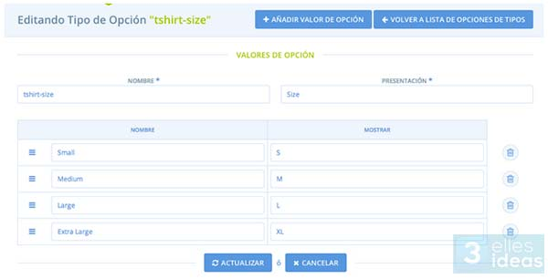 Flexibilidad  y visibilidad del catálogo de productos