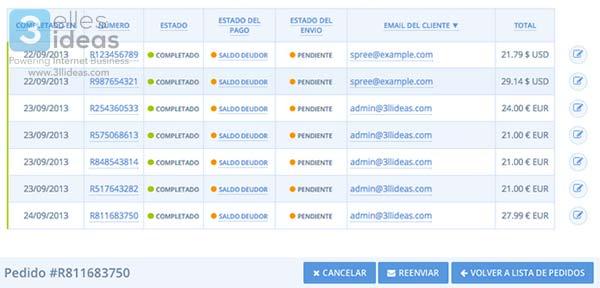 Spree Commerce : tienda online con gestor avanzado de pedidos