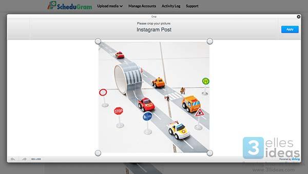 Programa las subidas de fotos en Instagram con Schedugram