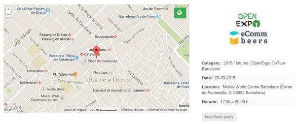 3llideas estará en el OpenExpo eComm beers de Barcelona