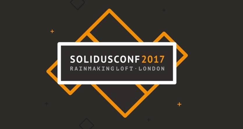 Solidus Conf 2017, la próxima conferencia se celebrará en Londres