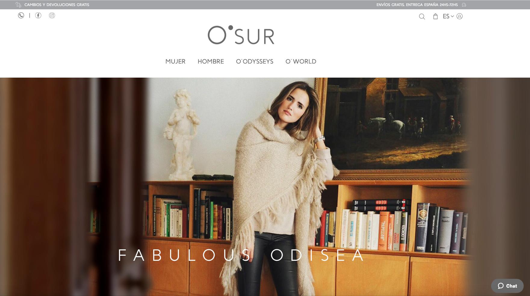 Proyecto e-commerce O-SUR.COM